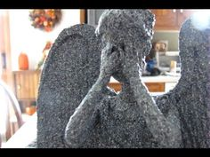 Weeping Angel Christmas Tree Topper Tutorial. This is awesome.