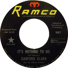sanford-clark-its-nothin-to-me-ramco.jpg (770×770)