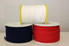 Red, White and Navy Blue