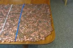 A man visually examines the logic of President Barack Obama's initiative to apply budget cuts as reported by the Washington Post. Using pennies, his scaling comparison puts things into a better numerical perspective.