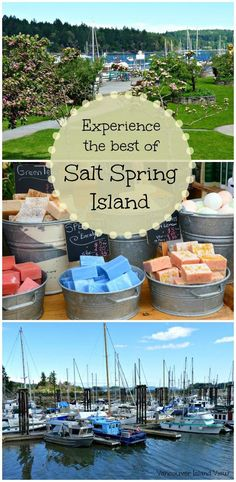A Salt Spring Island Getaway. Near Victoria, BC on Vancouver Island, Salt Spring Island is a unique destination one should explore. Use these tips and tricks to get the most out of your visit. Salt Spring Island Bc, Best Island Vacation, Maui Vacation, Beach Vacations, Vacation Spots, Lanai Island, Big Island, Voyage Canada, Where Is Bora Bora