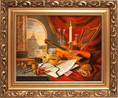 Festő: Csurgó Erzsébet Címe: Az alkonyadt nap sugarai  Méret: 40×50,- olaj  Ára: 189 000,-Ft www.lisaelinor.hu