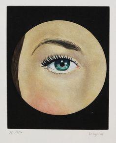 The Eye (L'Oeil vert), Magritte.  Art Experience NYC  www.artexperiencenyc.com/social_login/?utm_source=pinterest_medium=pins_content=pinterest_pins_campaign=pinterest_initial
