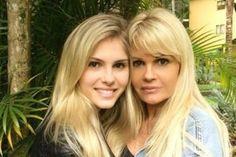 Monique Evans posta foto antiga e fãs comentam a semelhança com a filha - Celebridades - O Dia