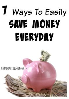 Use these tips and find ways you can easily save money every day!