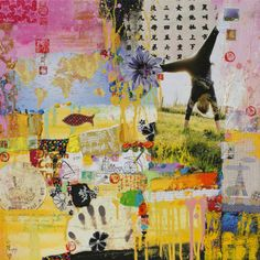 """Saatchi Online Artist: Xiaoyang Galas; Mixed Media, Painting """"Dream come true"""""""