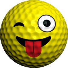 One sheet of 4 Crazy emoji faces Frog Logo, Golf Humour, Golf Images, Golf Ball Crafts, Gifts For Golfers, Emoji Faces, Golf Stuff, Rock Painting Designs, Fb Covers