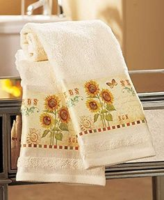 Sunflower Bathroom Accessories To Light Up Your Space!