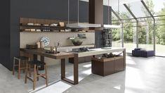 The modern kitchen checklist Kitchen Craft Cabinets, Contemporary Kitchen Cabinets, Contemporary Kitchen Design, Wooden Kitchen, Kitchen Cabinet Design, Layout Design, Design Ideas, Latest Kitchen Designs, European Kitchens