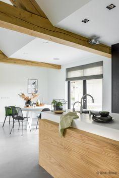 open Keuken inrichten botanisch wonen kookeiland ©BintiHome