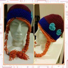 Crochet Hat - Anna inspired