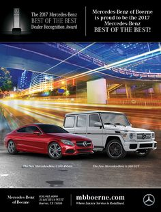 Full Page Magazine Ad Mercedes Benz Mercedes Benz Dealer, New Mercedes, Recognition Awards, Benz G, Magazine Ads, Design