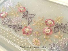 Yukari Iwashita   オートクチュール刺繍