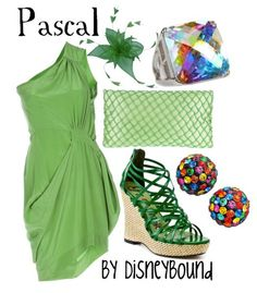 Disney Bound  pascal  tangled