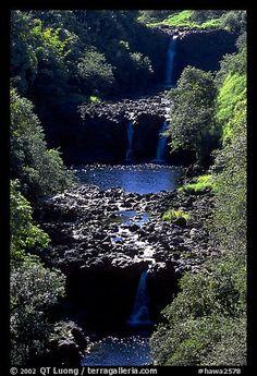 Umauma Falls. Big Island, Hawaii