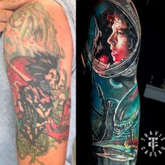 Travis Cadeau Tattoo Artist in Hamilton. Best Tattoo artist in Hamilton. Bad Tattoos, Cover Up Tattoos, Cool Tattoos, Hamilton Tattoos, Symbolic Art, Arm Sleeve Tattoos, Tattoo Artists, Arms, Artist Art
