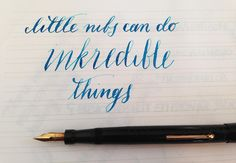 Handwritten Post - Little Nibs, Inkredible Things