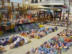 Nabeul, Tunisia ~ Pottery market