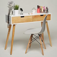 Konsolentisch Holz Weiß 100 X 30 X 80 Cm Konsole Beistell... Https:
