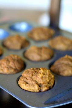 Baking with Kids: Low Sugar Whole Wheat Pumpkin Muffins - Fun at Home with Kids