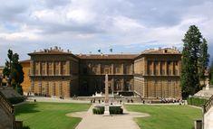 Palazzo Pitti - La facciata sul Giardino di Boboli -