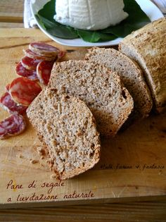 Pane di segale a lievitazione naturale