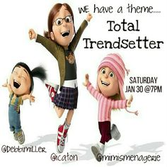 THEME UPDATE  TOTAL TRENDSETTER ?? 1/30 We are so excited to be co-hosting our very first party together!  Please join us on 1/30/16 @ 7pm PST with fellow co-hosting @debbimiller @mimismenagerie @katieb79 and @tupa_b  We are looking forward to partying with all of you!  I'm looking forward to looking through your closets for my picks! @icaton Other