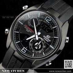 BUY Casio Edifice Chronograph Duo Display Watch ERA-100PB-1AV, ERA100PB - Buy Watches Online | CASIO NZ Watches