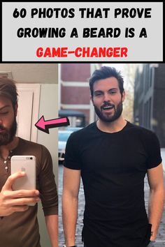 In recent years beards have made a real comeback, especially in hipster culture, and men with beards are actually perceived to be more competent and trustworthy be others! We've gathered sixty photos for you that show just how much a man's appearance can change when he grows out a good beard!