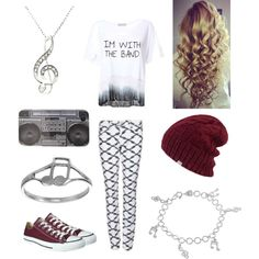 Cute band outfit from Polyvore!