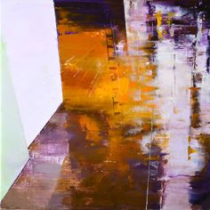 """""""Land #15,"""" original abstract painting by artist Zin Lim (USA) available at Saatchi Art #SaatchiArt"""