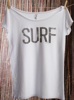Perfect to wear to the beach over a bathing suit. (Just before you surf, obviously.) ;-)