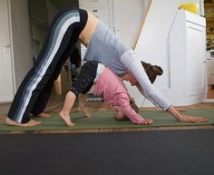 Yoga Poses to do with your kids @Elizabeth Lockhart Clawson
