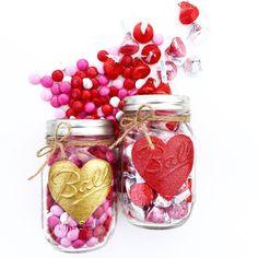 Valentines Day Mason Jar, Valentine, Valentines Day Gift, Mason Jars, Hearts, Valentines Day, Valentine for Teacher, Decor, Centerpiece by MidnightOwlCandleCo on Etsy https://www.etsy.com/listing/263068154/valentines-day-mason-jar-valentine