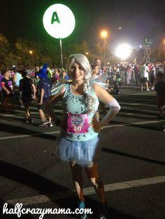 Elsa Frozen running costume