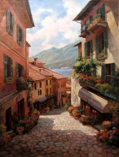 A typical Italian village overloaded with culture and great food