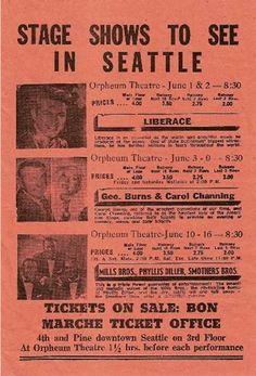 1962 Seattle World's Fair Flyer