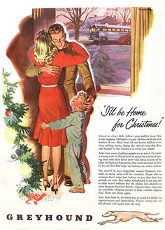 1945 ... home for Christmas, via Flickr.