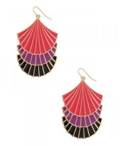 tiered sea shell earrings forever 21 aminamichele.com amina michele