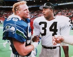 Bo Jackson, Brian Bosworth reunite, recall 1987 Raiders-Seahawks game