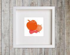 Pumpkins  INSTANT DOWNLOAD  Kitchen Art Printable   door DIYwallART, $10.00