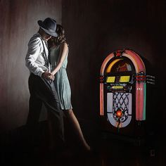 One last Dance by Richard Blunt, available as Canvas with slip. ✅FREE DELIVERY✅ on prints & sculptures orders over Dance Paintings, Paintings I Love, Blunt Art, Tango Art, Tango Dance, One Last Dance, Dancing In The Dark, Figure Painting, Art Pictures