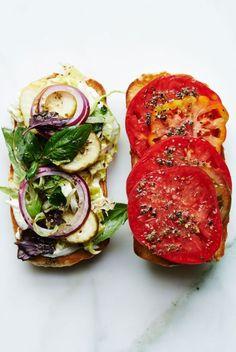 Italian Tomato Hoagie (via http://www.bonappetit.com)