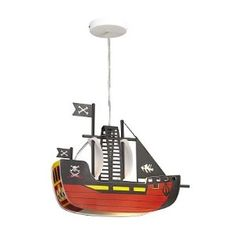 "Kinderlampe ""Piratenschiff"" 50€"