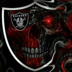 This photo is an extremely inspiring and extremely good idea Raiders Pics, Nfl Raiders, Raiders Baby, Oakland Raiders Logo, National Football League, Football Team, Raiders Tattoos, Raiders Wallpaper, Glass Fire Pit