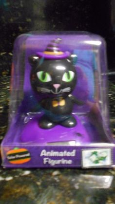 Solar Powered Dancing Black Cat 2015 + FREE Gift!! NIP