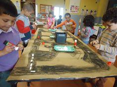 3de KLEUTERKLAS: Thema VERKEER Garages, Stem Projects, Preschool Crafts, Activities For Kids, Transportation, My Favorite Things, Preschool, Autos, Children Activities