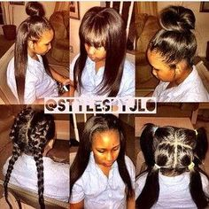Some girls love a gorgeous sew in, check out 17 looks we found that you can try the next time you get your weave done