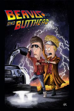 Back to the Future Beavis and Butthead