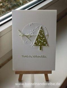 Homemade Christmas Cards, Printable Christmas Cards, Stampin Up Christmas, Christmas Cards To Make, Xmas Cards, Handmade Christmas, Christmas Crafts, Christmas Christmas, Stampin Up Weihnachten